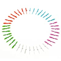 RC Aircraft Propellers,Jimmkey 60pcs 5 Color Cheerson CX-10 CX-10A RC Quadcopter Parts Blade Propeller RC Drone Model Helicopter Remote Control Helicopter Platinum Low-Noise Quick-Release Propellers