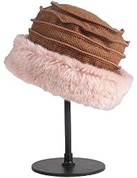 Categoría sombreros de mujer, nuevo para el otoño/invierno de moda de sombrerería, viajes al aire libre gorro calentito, plegado portable,caqui