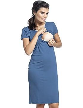 Zeta Ville - Camicia da notte prémaman gravidanza allattamento - donna - 274c