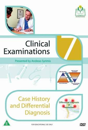 Case History Taking and Differential Diagnosis (Clinical Examinations DVD Series)