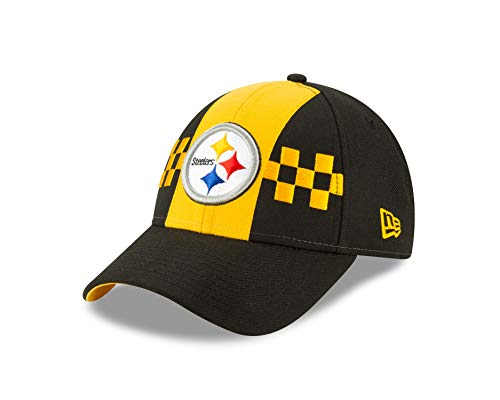 New Era Pittsburgh Steelers 9forty Adjustable Cap Nfl19 Draft Black - One-Size