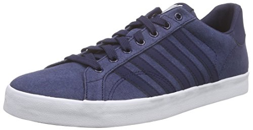 K-Swiss Belmont So T Hvy Cvs, Baskets Basses homme Bleu - Blau (Navy/White)