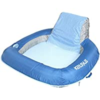 Kelsyus Floating Mesh Sedia, Piscina & Lago Lounging Chair - Blu