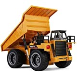 HUINA 1540 1:18 Scale, 2.4G 6CH RC Alloy Dump Truck Auto Demonstration Function