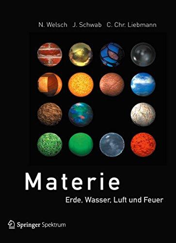 Materie: Erde, Wasser, Luft und Feuer