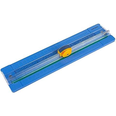 Handy Crafts 32018Mini Guillotine Cutter, colore: blu