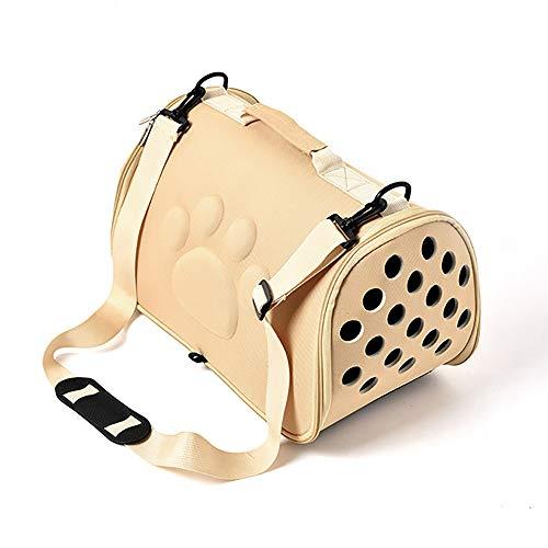 WY-Borsa per animali domestici Forniture per Animali Domestici/Trasportino per Cani E Gatti/Spugna Morbida E Confortevole/Elegante Pacchetto Comfort per Animali Domestici Ultraleggero