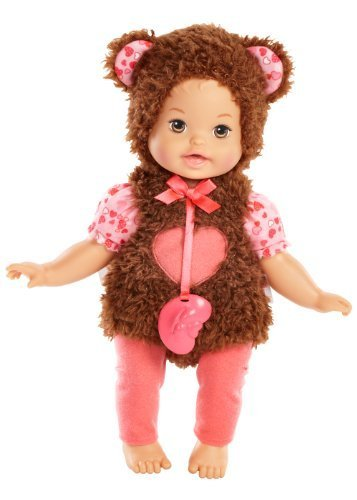 Little Mommy Dress Up Cutie Bear Doll by Little Mommy