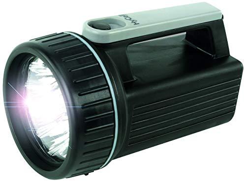 HyCell LED Arbeitsleuchte HS9 - Batteriebetriebene LED Handlampe - Robuster Handscheinwerfer mit 9 LEDs & einer Leuchtdauer von 150h - Taschenlampe ideal für Camping Arbeit Werkstatt KfZ Auto Garten 9 Led-taschenlampen