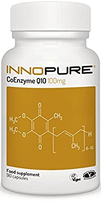 Innopure® Co-Enzyme Q10 | Pure Grade & Natural Source of CoQ10 | 90 Capsules, 100mg | Introductory Offer