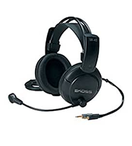 Koss SB40 mobile headset - mobile headsets (Binaural, Black, Wired, 20 - 20000 Hz, dynamic, Open)