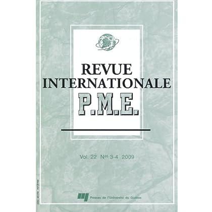 Revue internationale PME vol 22 # 3-4