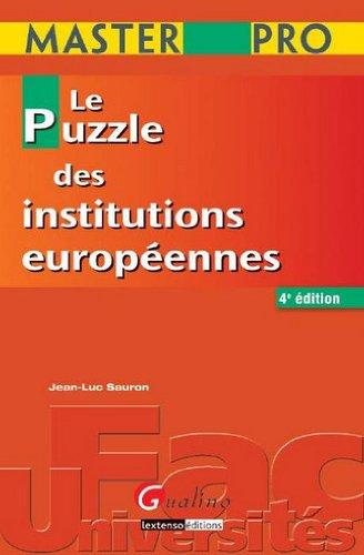 Master Pro - Le puzzle des institutions européennes