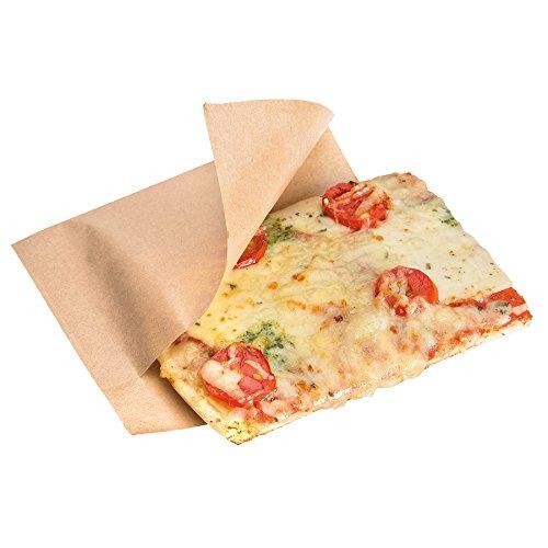 Garcia de Pou 100Einheit, geöffnet Pack Tasche für Häppchen, Hot Dogs in Box 35GSM, 25x 13/10cm, Papier, Natur, 25x 10x 30cm - Hot-dog-box