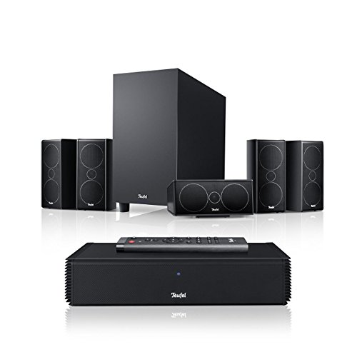 Teufel Consono 35 Complete Schwarz Film Subwoofer Lautsprecher Movie Musik Raumklang Sound Heimkino DTS HD Komplettanlagen 5.1 Soundanlage Surround