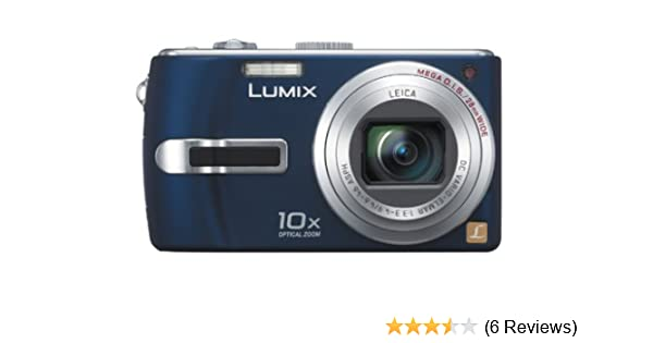 panasonic lumix dmc tz3 digital camera blue amazon co uk camera rh amazon co uk Panasonic DMC TZ3 Charger Panasonic Lumix DMC ZS3