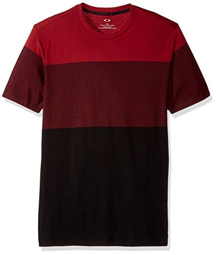 Oakley herren Trilogy Ss Knit T-Shirt - rot -