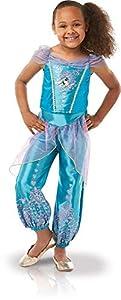 Rubies 640724M Disfraz de princesa de Jazmín de Disfraz Oficial de Disney, tamaño mediano 5-6 años, altura 116 cm, Niñas, M