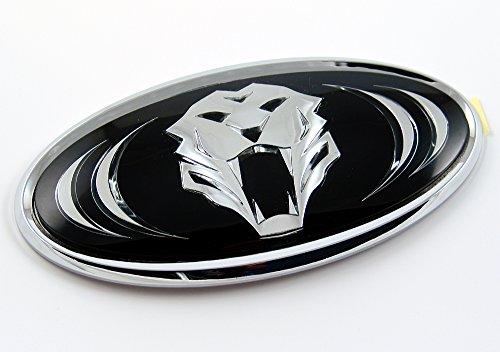 ix35 Emblem Tiger für das Kühlergrill Grill Logo Tuning Radiator Grille (Tiger-emblem)