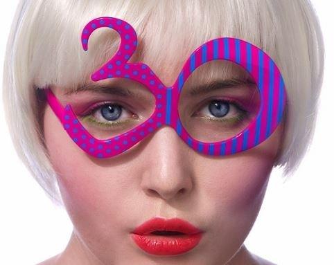 Brille zum 30. Geburtstag (Pl 30)