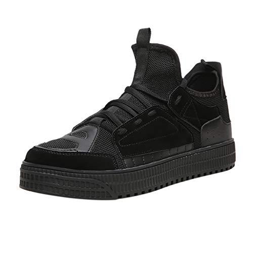 Vovotrade_scarpa da Ginnastica Uomo Corsa Sportive Fitness Running Palestra Sneakers Basse Scarpe Comode per Camminare Jogging