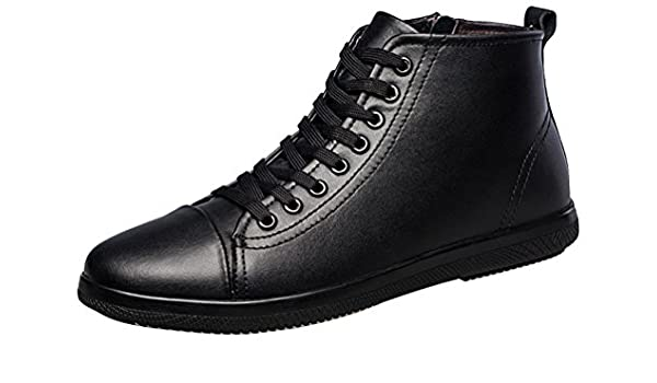 high top smart shoes