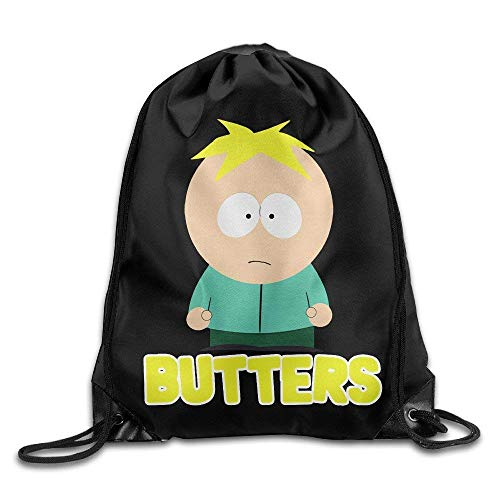 fhjhfgjghfjghfj Drawstring Tote Backpack Tasche Butters South Park Comedy TV Show -