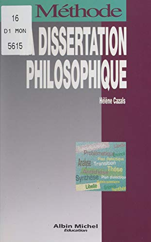 La dissertation philosophique (French Edition)