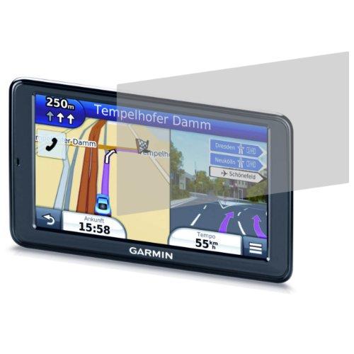 3 x 4ProTec Displayschutzfolie für Garmin nuevi 2595LMT - Entspiegelnde Schutzfolie (Nüvi Motorrad Halterung Garmin)