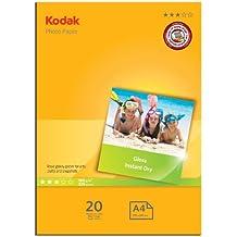 Kodak 5740512 - Papel fotográfico, A4, 180 g, 20 hojas