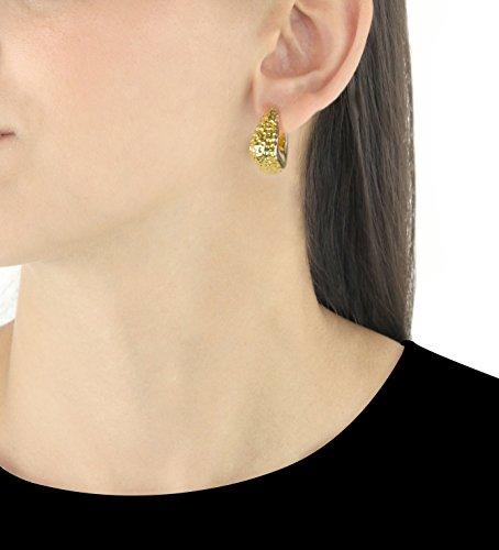 Carissma Gold - Créoles - Or 9 ct Or Bicolore
