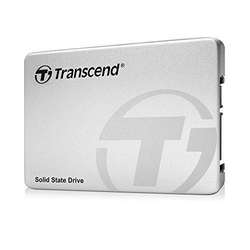 """Foto Transcend Ts128Gssd370S Ssd Sata3 Mlc 128Gb Alluminio 2,5"""" con Bracket 3.5"""""""