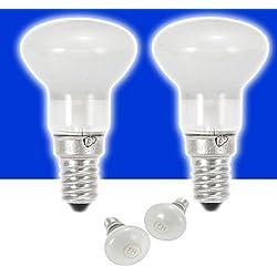 2x E14 30W R39 SES Lava Reflector Spotlight Light Bulb AC220V