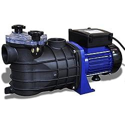 Bomba de Piscina Eléctrica 600W Azul