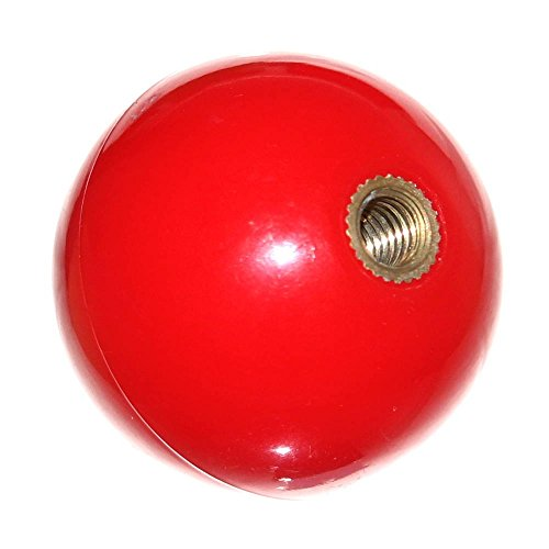 1 Joystick-Kugel ROT RED Ball mit 5mm Metall-Gewinde für Automaten Games Joystickball Neu Joy-Button -