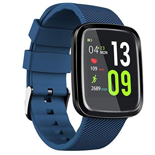 Yallylunn Smart Watch Blood Pressure Heart Rate Monitor Sleep Sports Fitness Tracker Sehr Einfach Zu Nehmen Und Zu Entfernen Den TäGlichen Verschleiß Bequem