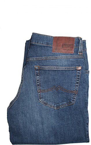 Mustang Herren Straight Jeans Tramper Blau