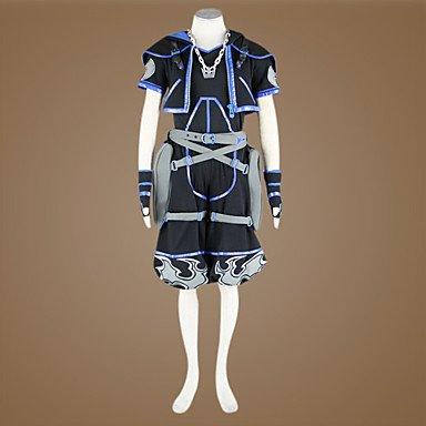 Kingdom Hearts 2 anti sora cosplay Kostüm,Maßgeschneiderte(Mailen Sie uns Ihre Größe),Größe M: Höhe 165cm-170cm