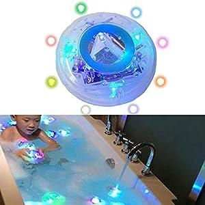 Kinder Lichter Badewanne Wasserdicht Bunten Badezimmer LED-Leuchten Spielzeug Floating