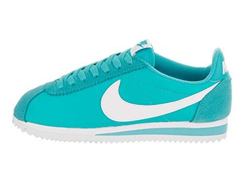Wmn Di Bianco Cortez gamma Ginnastica Nike Scarpe Donna Azul Blu Da Di Classico Blu Nylon RUU6dZ
