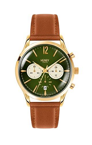 Henry London Herren-Armbanduhr HL41-CS-0190