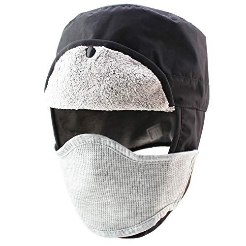 10a0689cd8c Outfly Impermeable Ushanka Aviator Ski Hats Sombrero de Caza para el  Invierno con Earflap Plegable y