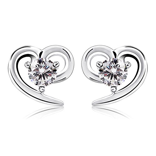 bcatcher-sterling-silver-sparkling-simulated-diamond-stud-earrings