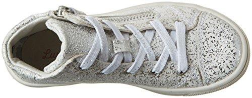 Lurchi Sandy, Chaussons montants fille Blanc (blanc cassé)