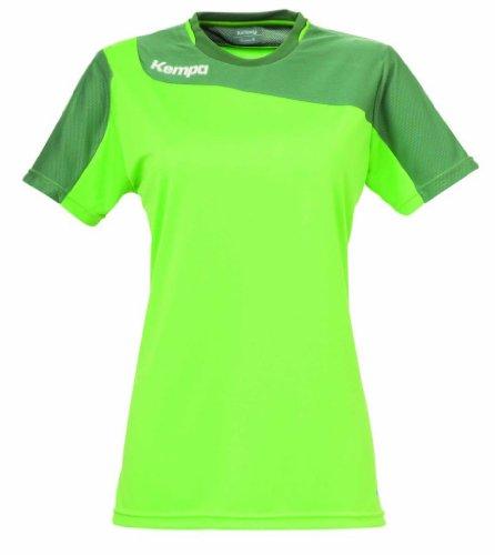 Kempa Damen Shirt Tribute Women hope green/green eyes