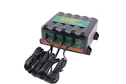 Battery Tender 022-0148-DL-EU Batterieladegeräte 4-Bank BT INTL, 12V 1.25A Deltran Battery Tender