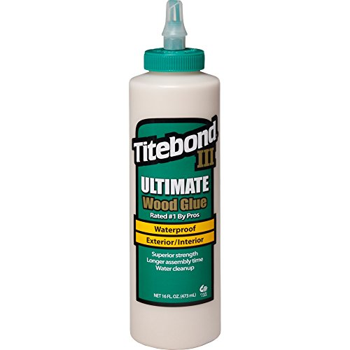 Titebond III Ultimate Wood Glue 1414- Pegamento para madera, 473ml