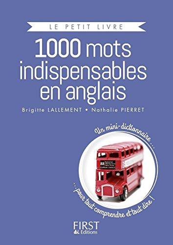 Le Petit Livre collector - 1000 mots indispensables en anglais