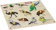 Zitto Premium Wooden Birds Educational Puzzle Toy