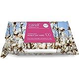 Carell patient Lingettes sèches–Coton doux–100lingettes